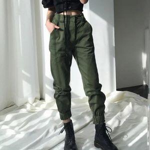 High waist pants como pants